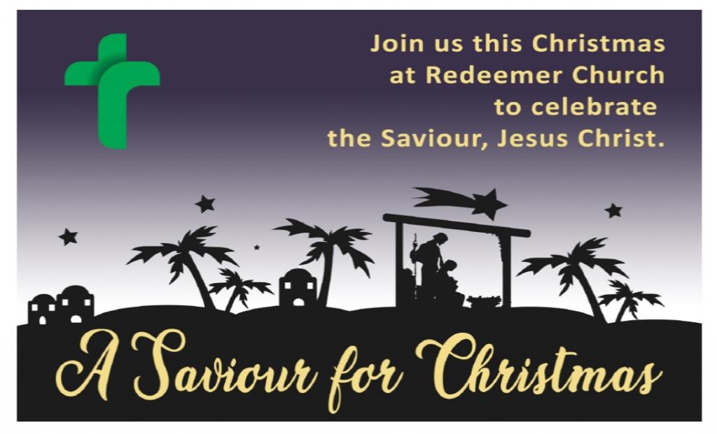 Luke 1: A Saviour for Christmas